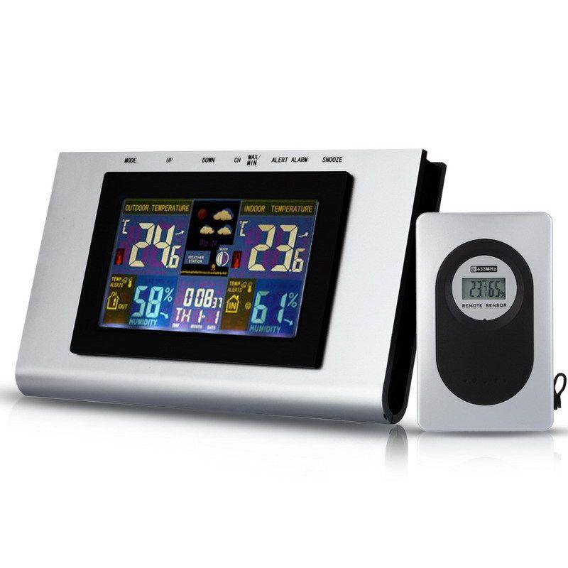TS H127G 433MHz Wireless Weather Station Temp Alert