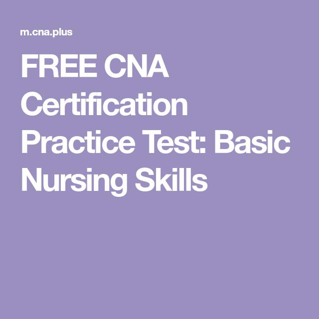 cna nursing test skills vital basic certification practice certified questions nurse signs knowledge assistant
