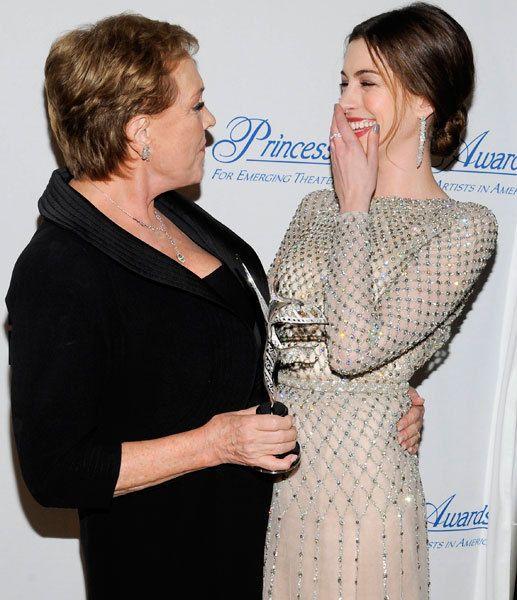 Julie Andrews & Anne Hathaway