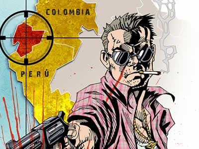 Resultado de imagen para SICARIATO EN COLOMBIA