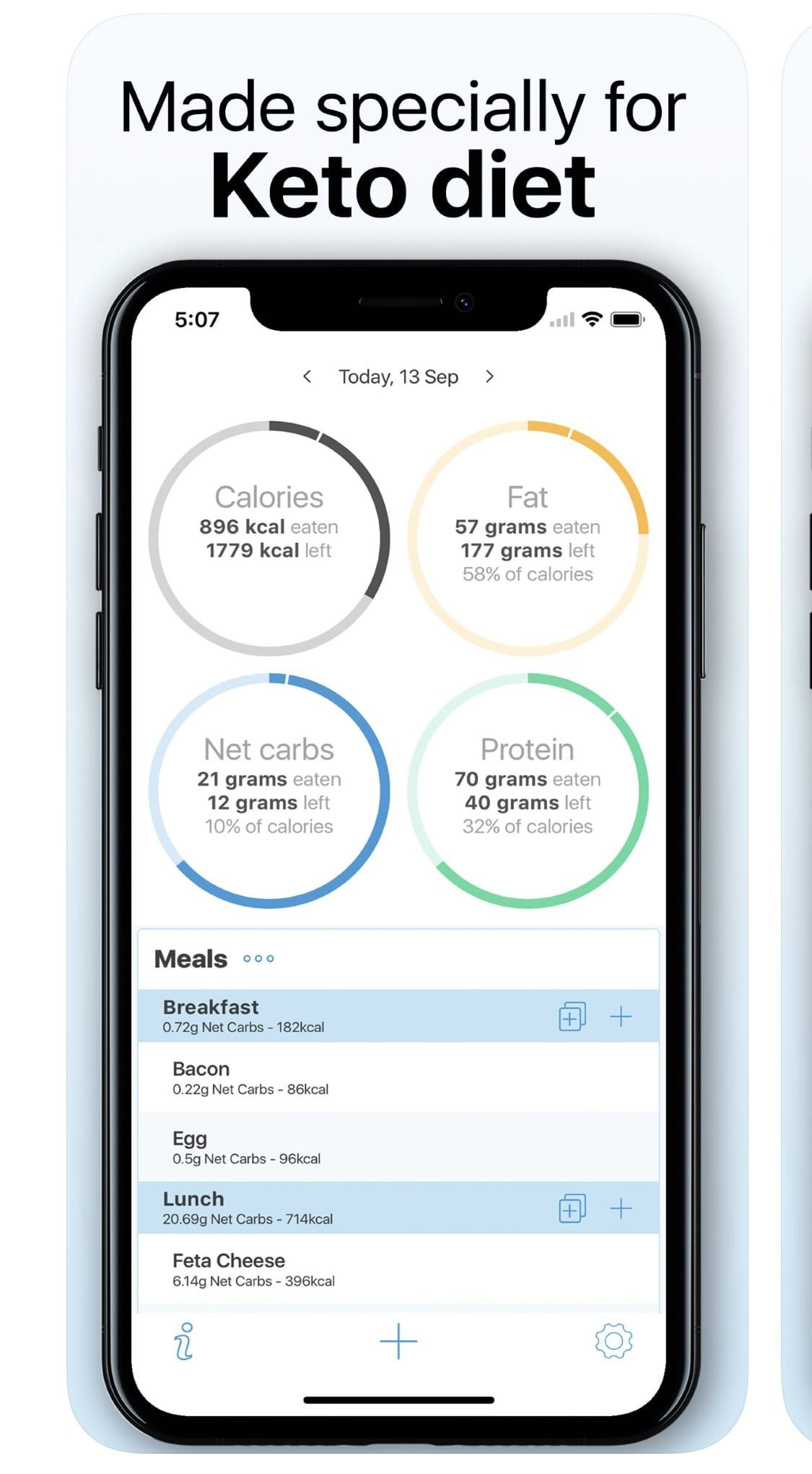 apps to use on no carb diet