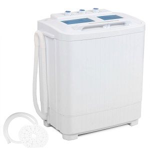 DELLA Electric Small Mini Portable Washer - timer controlled ...