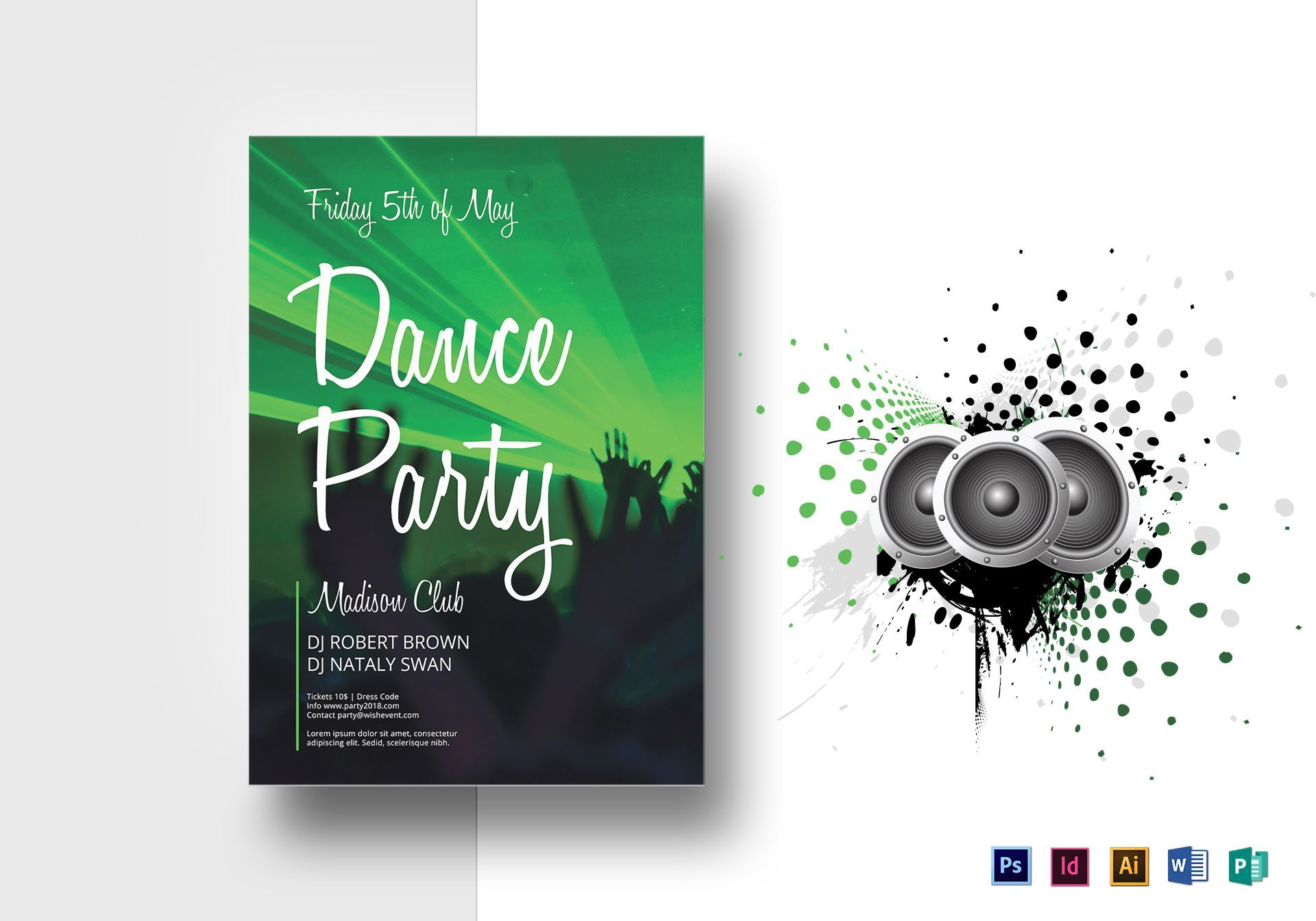 Dance Party Flyer Template Inside Dance Flyer Template Word Fugozinsurance Ga Party Flyer Flyer Template Flyer
