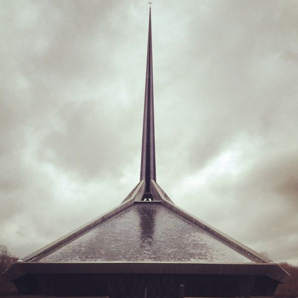 North Christian Church by Eero Saarinen, Columbus, Indiana