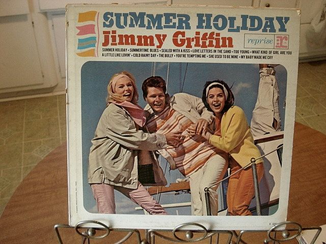 Summer Holiday Lp Jimmy Griffin Summer Music Vinyl Music Jimmy Griffin Record Summertime Blues Reprise Records 1960s Music