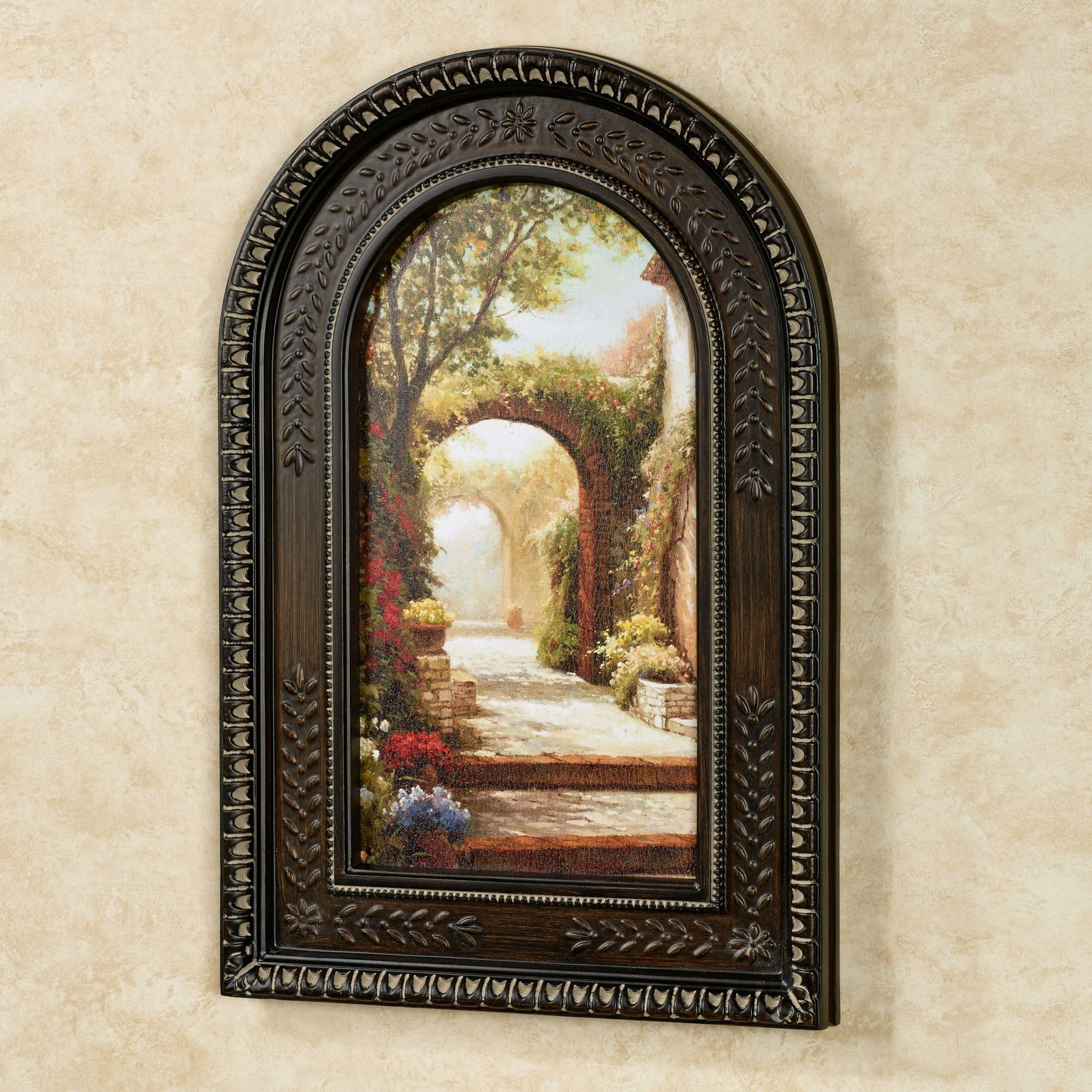 Pin By Aneika On Framed Art In 2021 Arched Wall Decor Framed Wall Art Framed Art