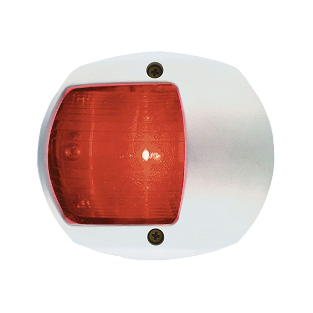 Perko Led Side Light Red 12v White Plastic Housing Boat Parts For Less Side Lights Light Red Navigation Lights