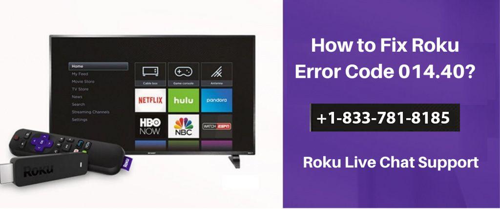 Roku Error Code 014 40 Error Code Coding Roku