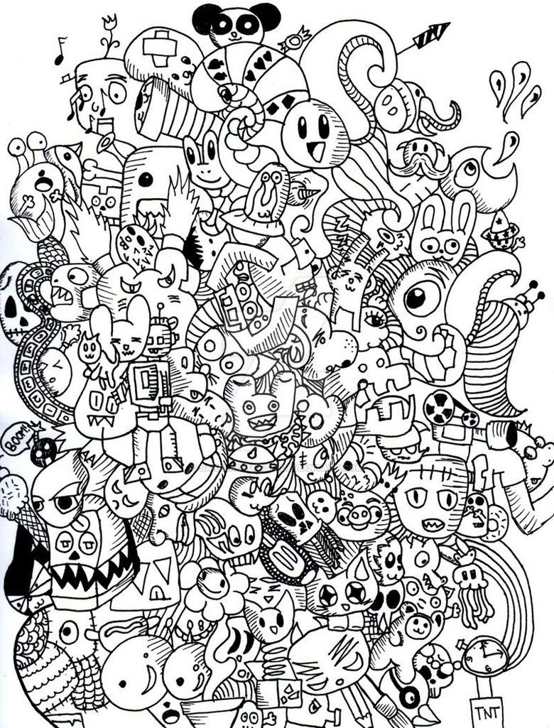 Final Doodle Monster Artwork By Jakelagman777 D4i82zu Jpg 780