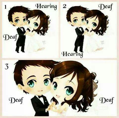 marrying someone who is deaf
