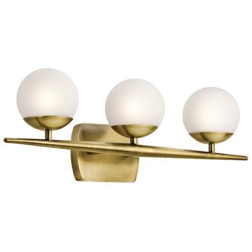 Discount Bathroom Lights: Kichler Jasper 3 Light Bathroom Vanity Light