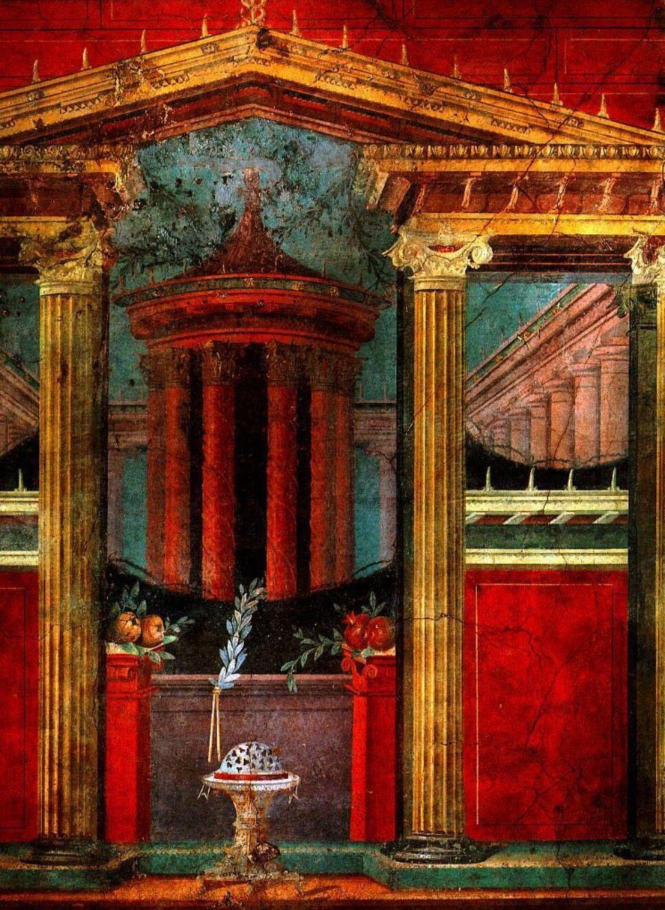 Pompei Fresco #pompeii #pompeiiruins #vesuvius #vesuvio #herculaneum #italy…