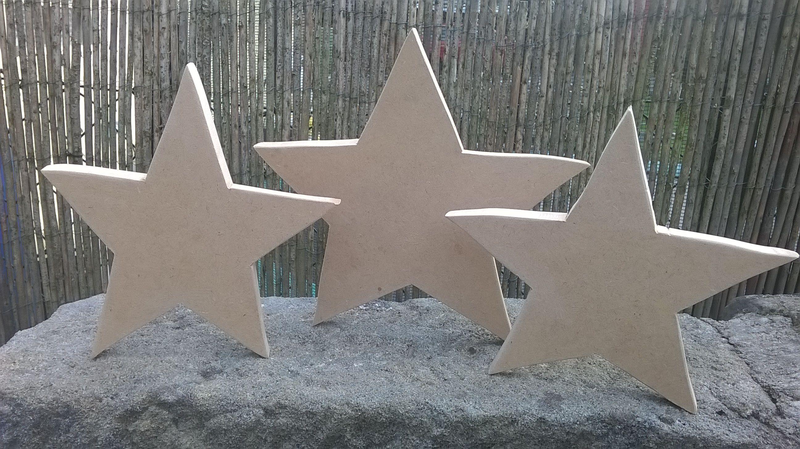 Holzsterne christmas decor weihnachten holz ideen und for Weihnachtsideen dekoration