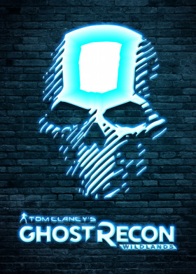 Tom Clancys Ghost Recon Neon Logo Gaming Neon Poster Prints By Ihab Design Displate Poster Prints Neon Art Metal Posters
