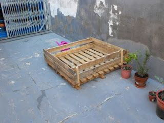 Tutorial D Un Tauler D Hort Urbà Fet Amb Palets Decoración De Unas Palets Reciclar