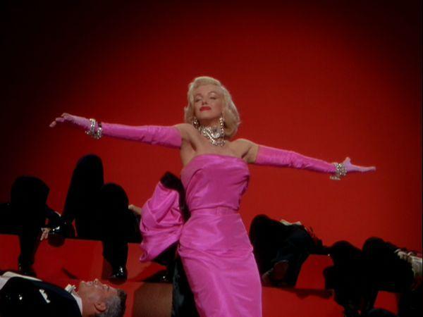 Marilyn Monroe Pink Satin Dress | He Called Me Pinkerton ...