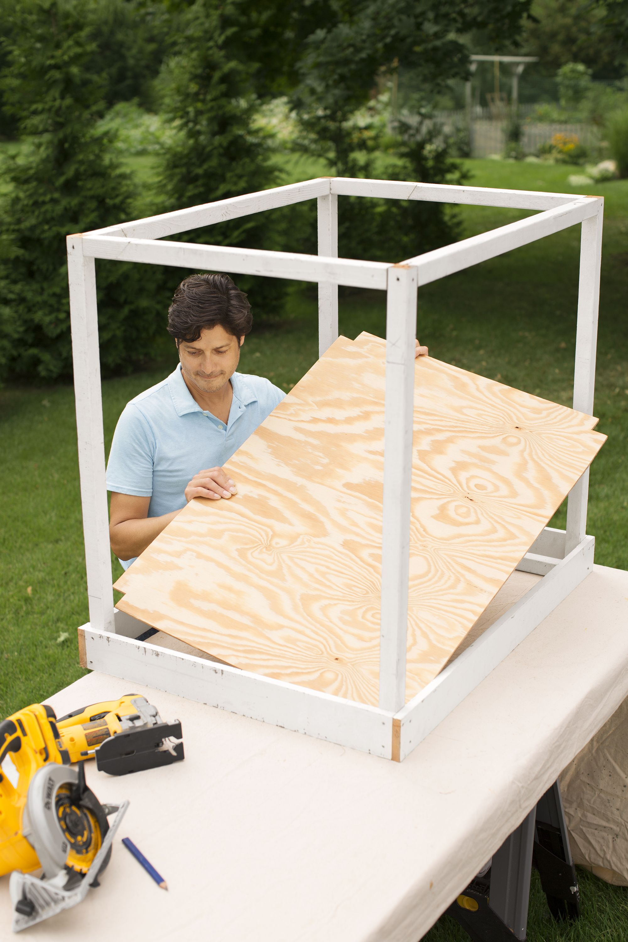 How to Build a Catio Catio, Cat playground, Screened in