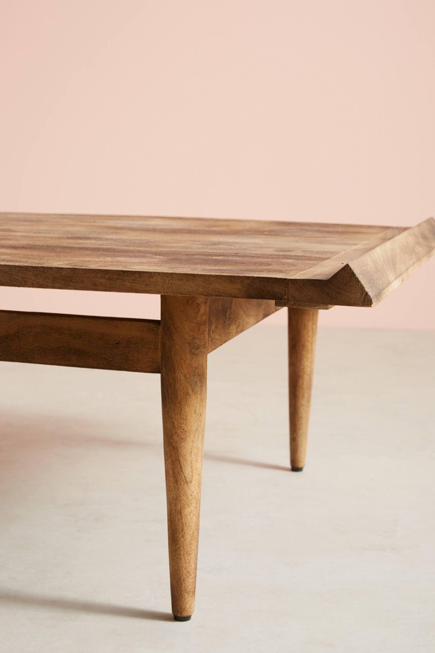 Burnished Wood Coffee Table