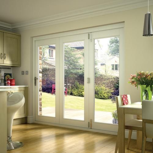Lyndon White Finished Folding Doors Wickes Dream Home