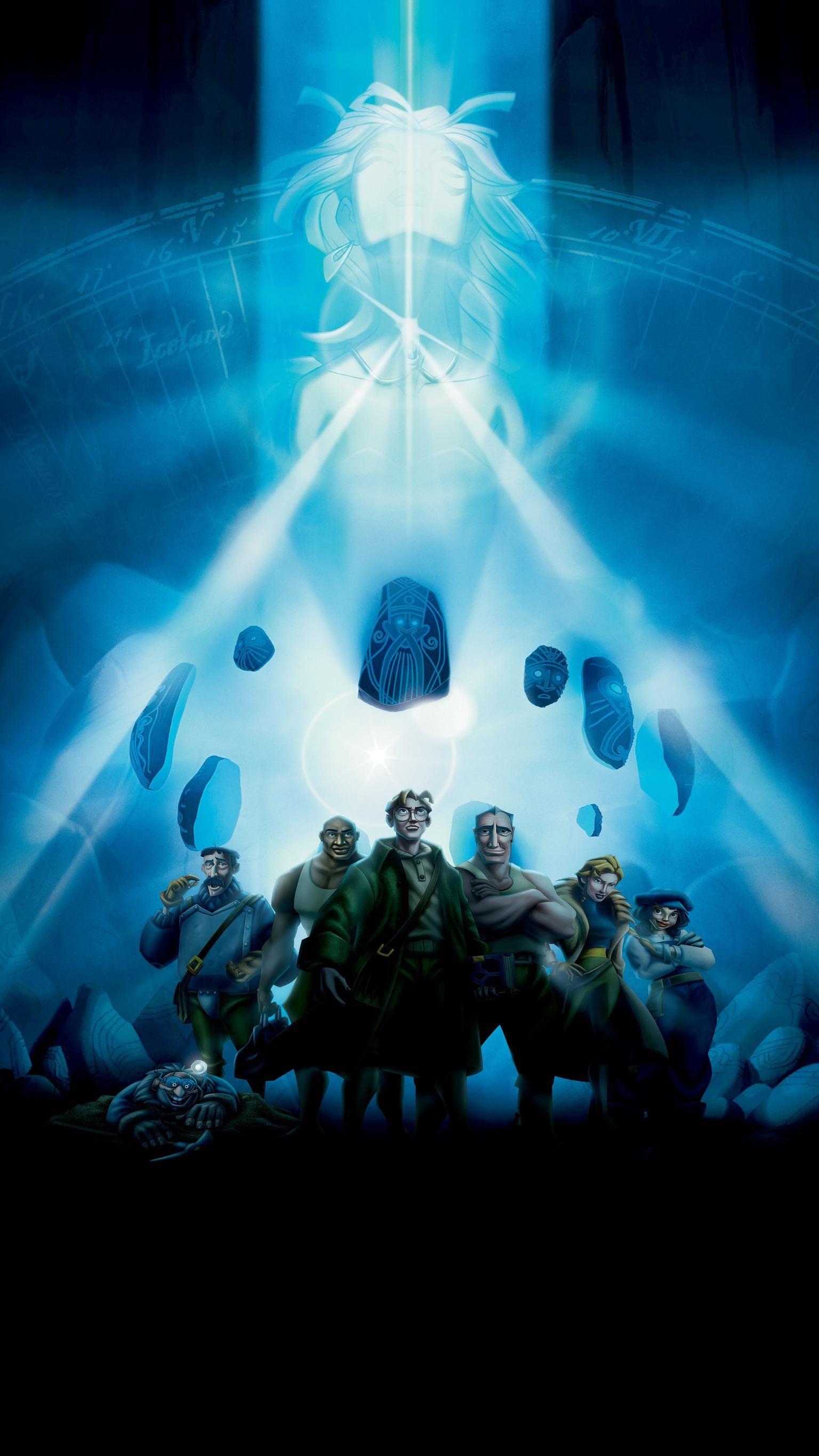Atlantis The Lost Empire 2001 Phone Wallpaper Moviemania Atlantis The Lost Empire Disney Wallpaper Classic Disney Movies