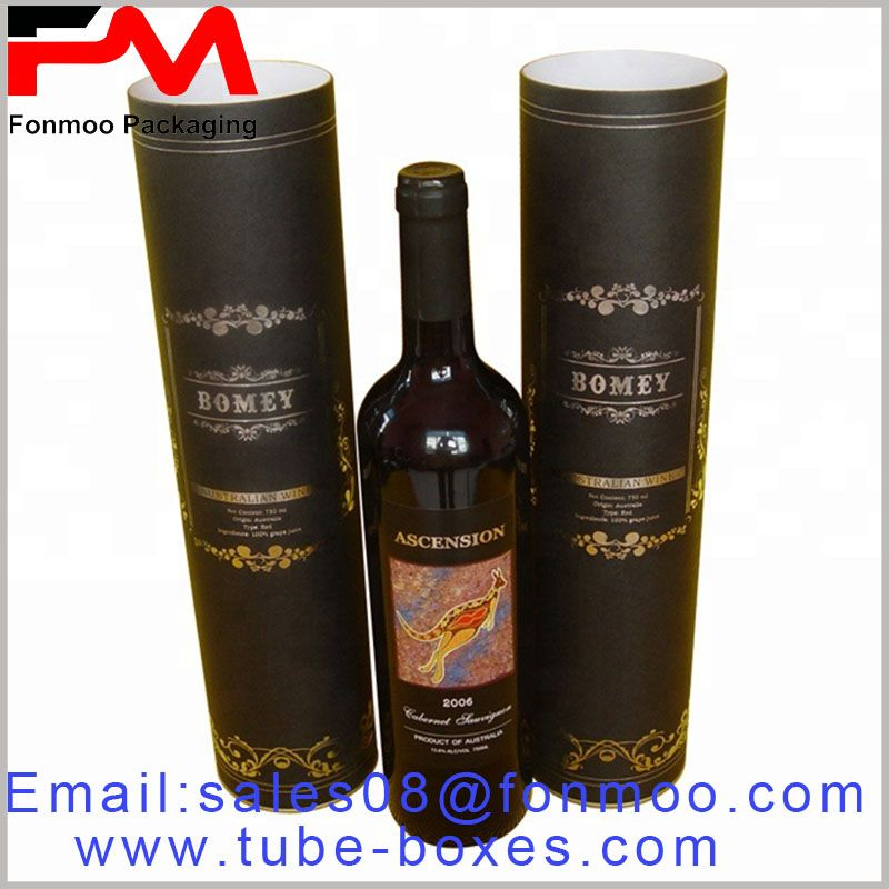 Large-size paper tube packaging for food boxes, emboss printing