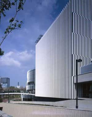 Suntory Museum Of Art By Kengo Kuma The Exterior Of The