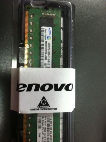 Lenovo Samsung DDR3  8GB PC3-14900 SDRAM ECC CL13 RDIMM M393B1G73QHO-CMA NEW