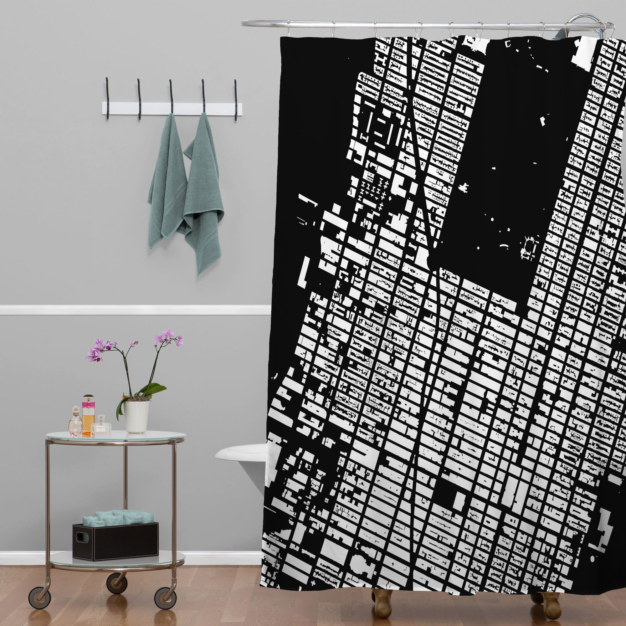 Cityfabric inc nyc midtown shower curtain products pinterest