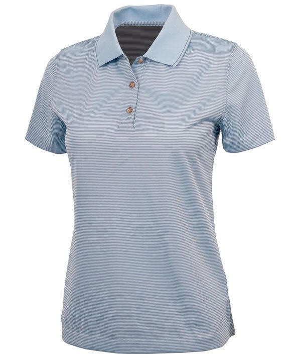 Charles River Apparel Style 2160 Women's MicroStripe Polo - SweatshirtStation.com #promotionalpolo #womenspolo #cutepolo