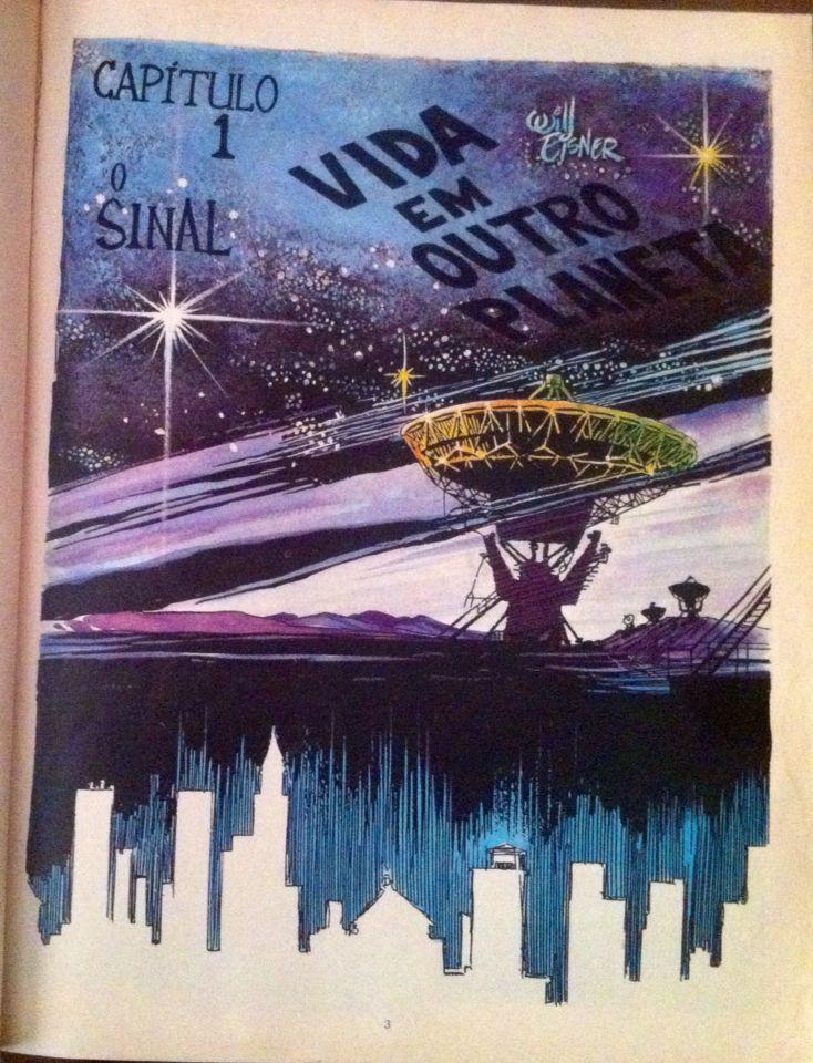 Will Eisner vida em outro planeta