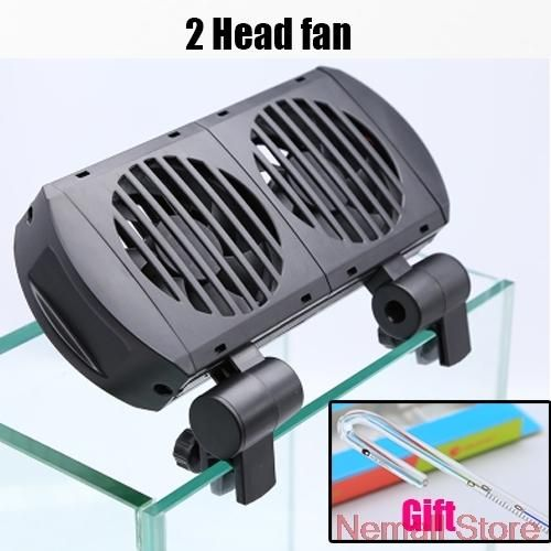 110v 240v Top Adjustable Mini Aquarium Cooling Hang On Fan With