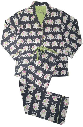 Pj salvage pyjama sets pj and pyjamas - Pyjama elephant ...