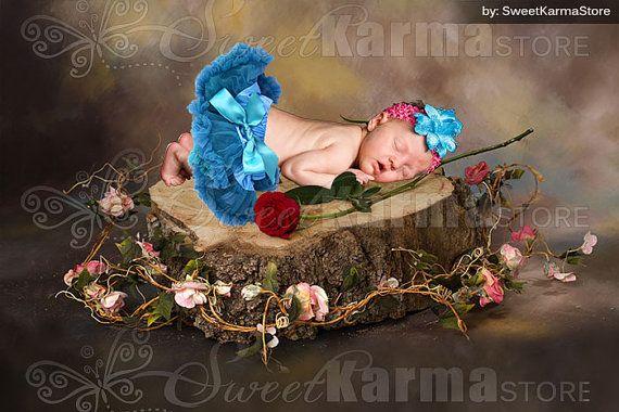 Spring Tree Stump Digital Prop Photoshop PSD by SweetkarmaStore, $6.95