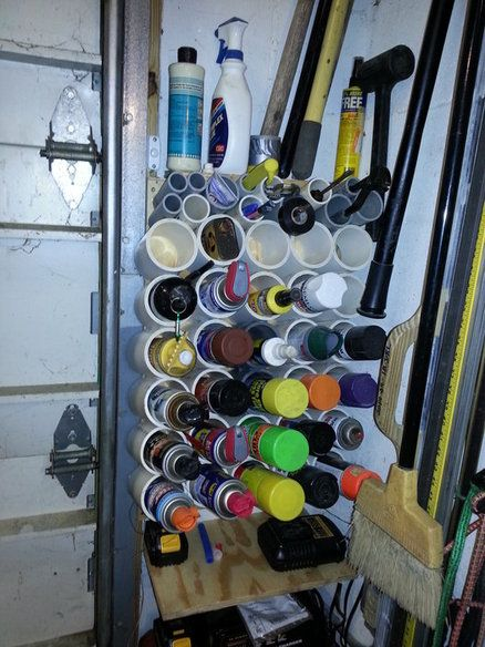 Spray Can Holder for Garage   French Cleat   Garage ...