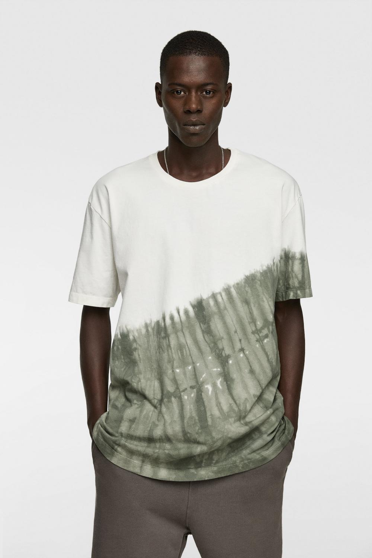 Tie Dye T Shirt Essence Alles Bekijken T Shirts Heren New Collection Zara Belgie Tie Dye T Shirts Tie Dye Outfits Tie Dye Shirts Patterns [ 1500 x 1000 Pixel ]
