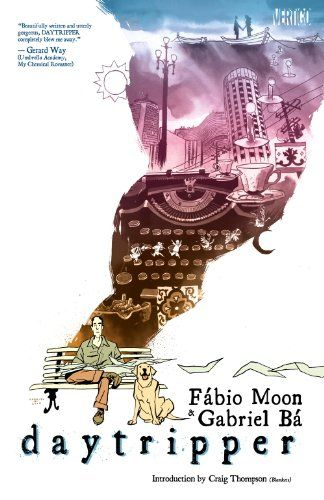 Daytripper, 2011 The New York Times Best Sellers Paperback Graphic Books winner, Fabio Moon and Gabriel Ba #NYTime #GoodReads #Books