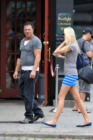 Anastassija Makarenko Photos Photos Mickey Rourke In The West Village Mickey Rourke Mickey West Village She has been in romantic relationship with famous hollywood actor mickey rourke for more than three years. anastassija makarenko photos photos