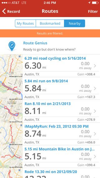 Map My Ride GPS Cycling And Route Tracking With Calorie Counting - Map my bike ride