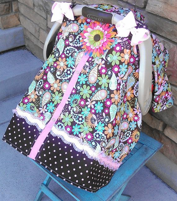 Carseat Canopy Free Shipping Code Today By SooShabbyChic On Etsy 3699