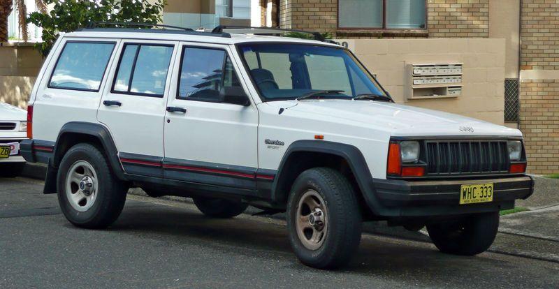 File:1994 1997 Jeep Cherokee (XJ) Sport 01