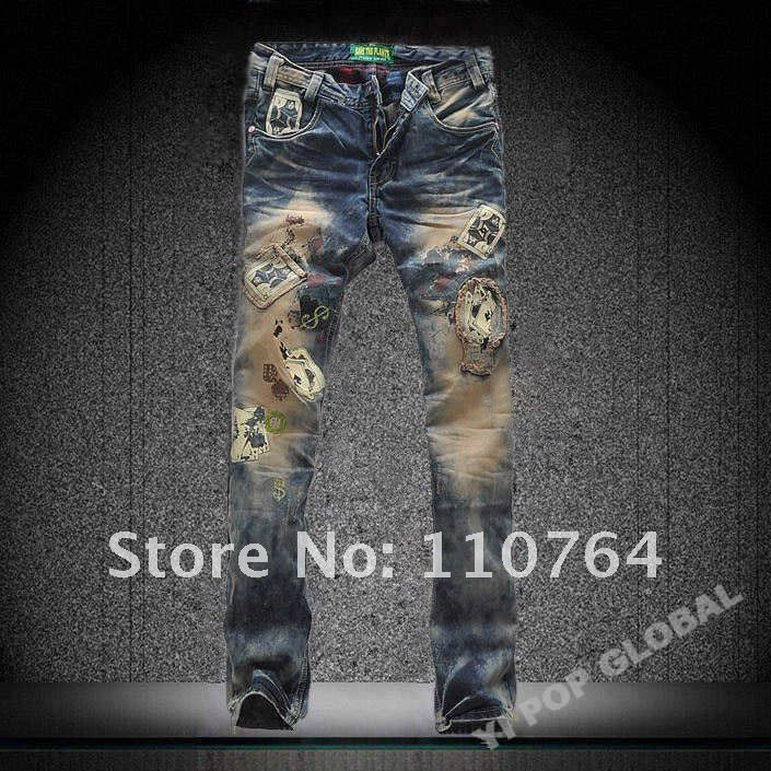 Aliexpress.com : Buy DSQ Men Jeans 2013 Washed New Designer Jeans ...