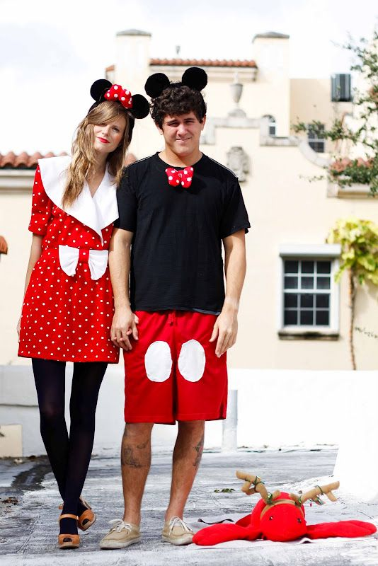 Mickey and Minnie!!!! Boo! Cute Couples Costumes Pinterest - cute halloween ideas for couples