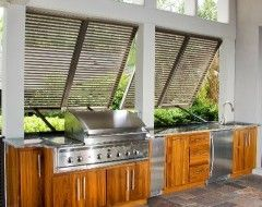 How Could You Not Love This Simple And Unique Indoor Outdoor Kitchen Outdoor Kit Outdoor Kitchen Design Indoor Outdoor Kitchen Outdoor Kitchen Design Layout