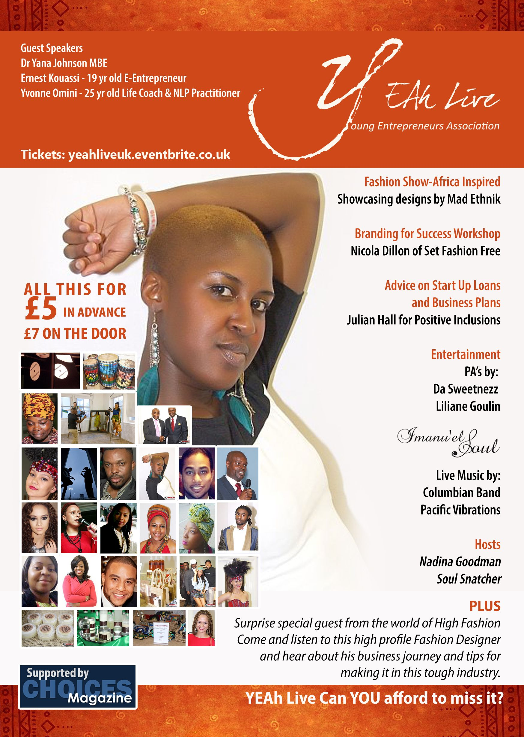 YEAh Live Fashion/Beauty Special Sat 21 September 2013