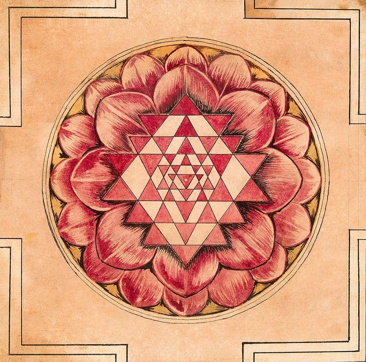 The Sri Chakra-Sri Yantra Mandala | Interesting | Sri yantra