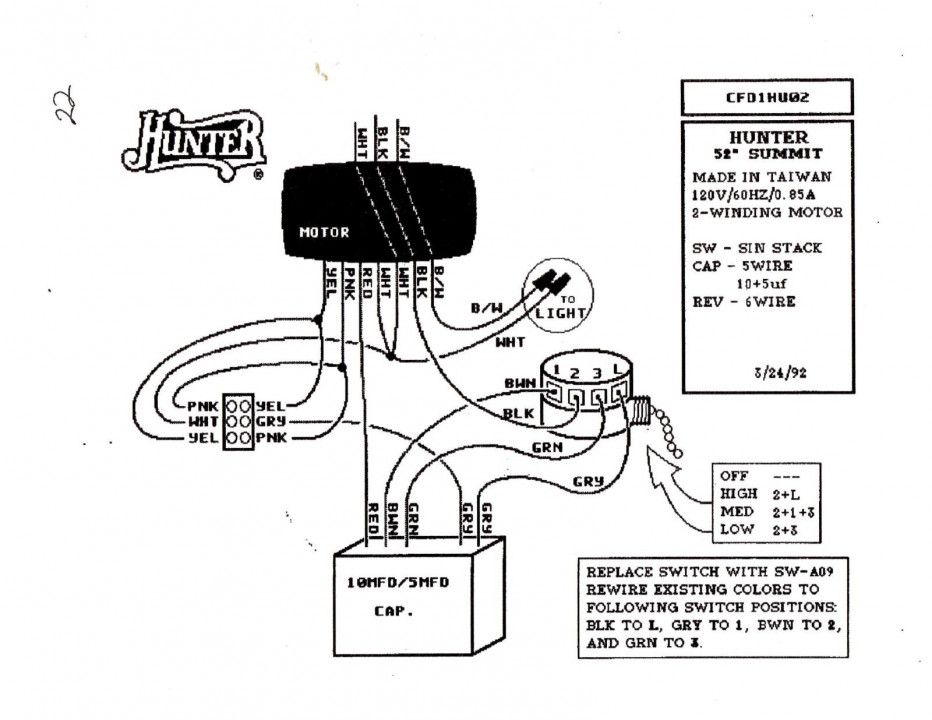 Harbor Breeze Ceiling Fan Wiring Diagram Model Lgg on
