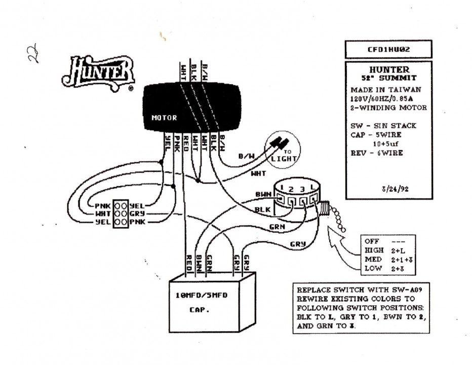 Hampton Bay Ceiling Fans Switch Wiring Diagram