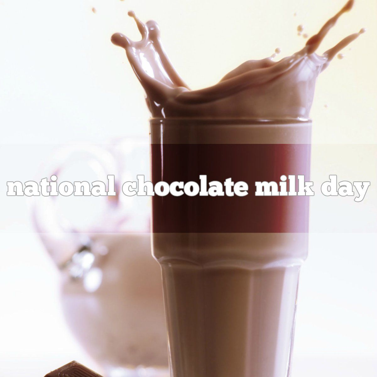 September 27 Is National Chocolate Milk Day Chocolate Milk Chocolate Milk