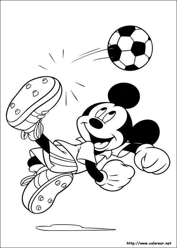 Dibujos De Mickey Para Colorear | Páginas para colorear ...