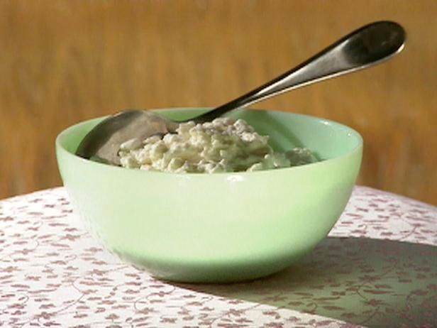 Quick Cottage Cheese Recipe Cottage Cheese Recipes Homemade Cottage Cheese Food Network Recipes
